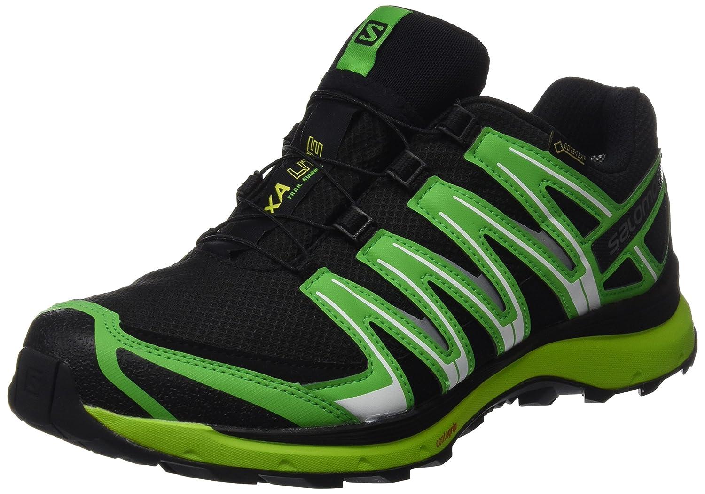 Salomon - XA Lite Lite Lite GTX - Chaussures de Course - Homme 46 2/3 EU|Noir/Vert (Black/Classic Green/Lime Punch) f3b3d2