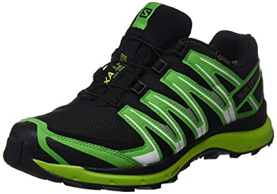 Salomon Herren Xa Lite GTX Traillaufschuhe  Black/Classic Green/Lime Punch