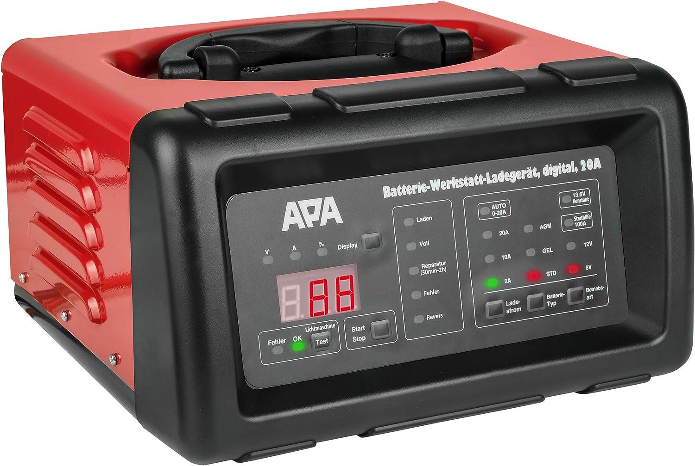Apa 16623 Mikroprozessor Batterie Ladegerät 6 V 12 V Auto