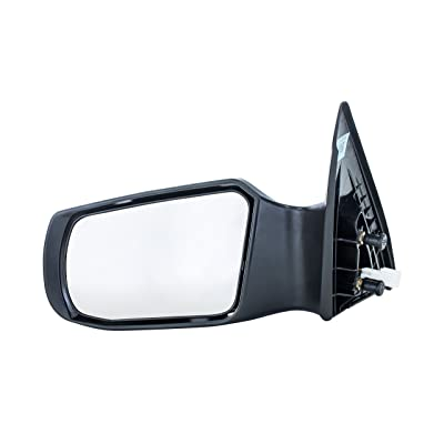 Dependable Direct Left Driver Side Non-Heated, Power Operated, Manual Folding, Unpainted Door Mirror for 07-2011 (2012 Sedan Only) Nissan Altima NI1320163: Automotive