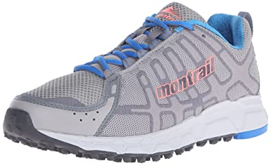 Montrail Women's Bajada II Trail Running Shoe, Dove/Coral Glow, ...