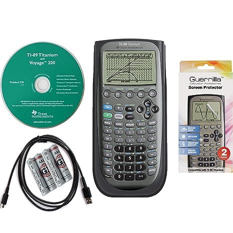 Amazon.com: Texas Instruments TI 89 Titanium Graphing ...