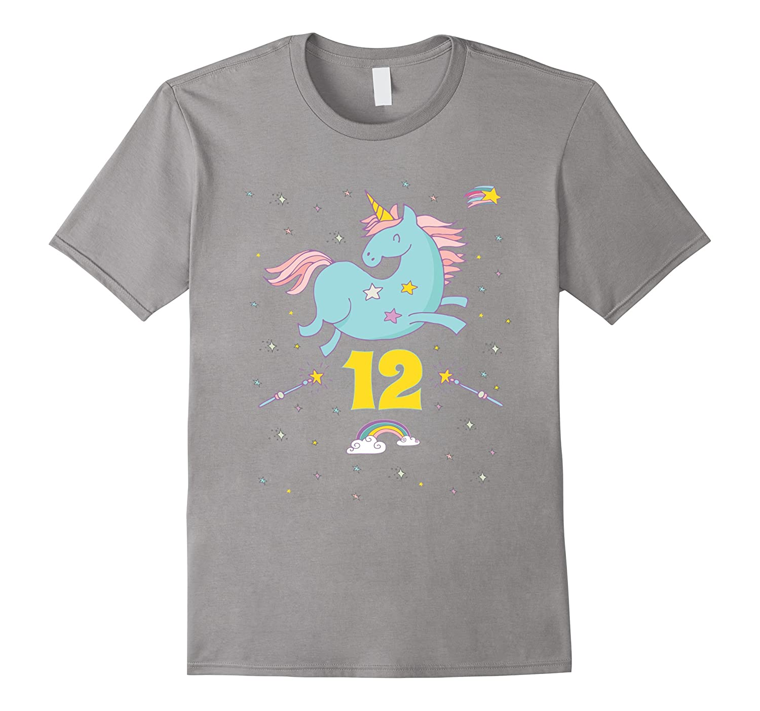 Unicorn Rainbow Birthday Shirt