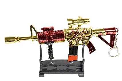 Amazon com: Key Chain Gun Replica for Fans of Fortnite Guns Fortnite