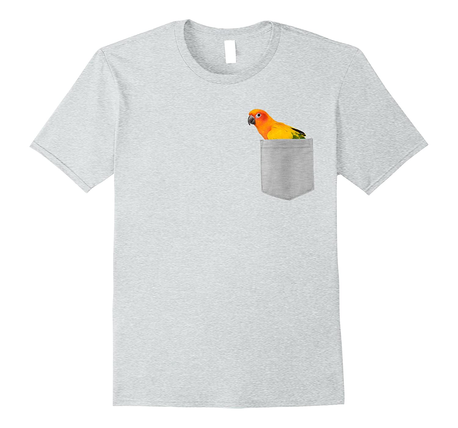 8d3e77618 Animal in Your Pocket Sun Conure Parrot t shirt-ah my shirt one gift ...