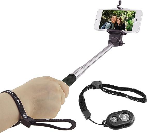 Palo Selfie Monopod Con Botón Disparador Extensible 78 cm IPhone Android NUEVO