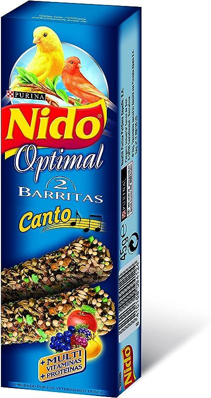 Nido Alimento Complementario con Semillas - 2 Barritas: Amazon.es ...