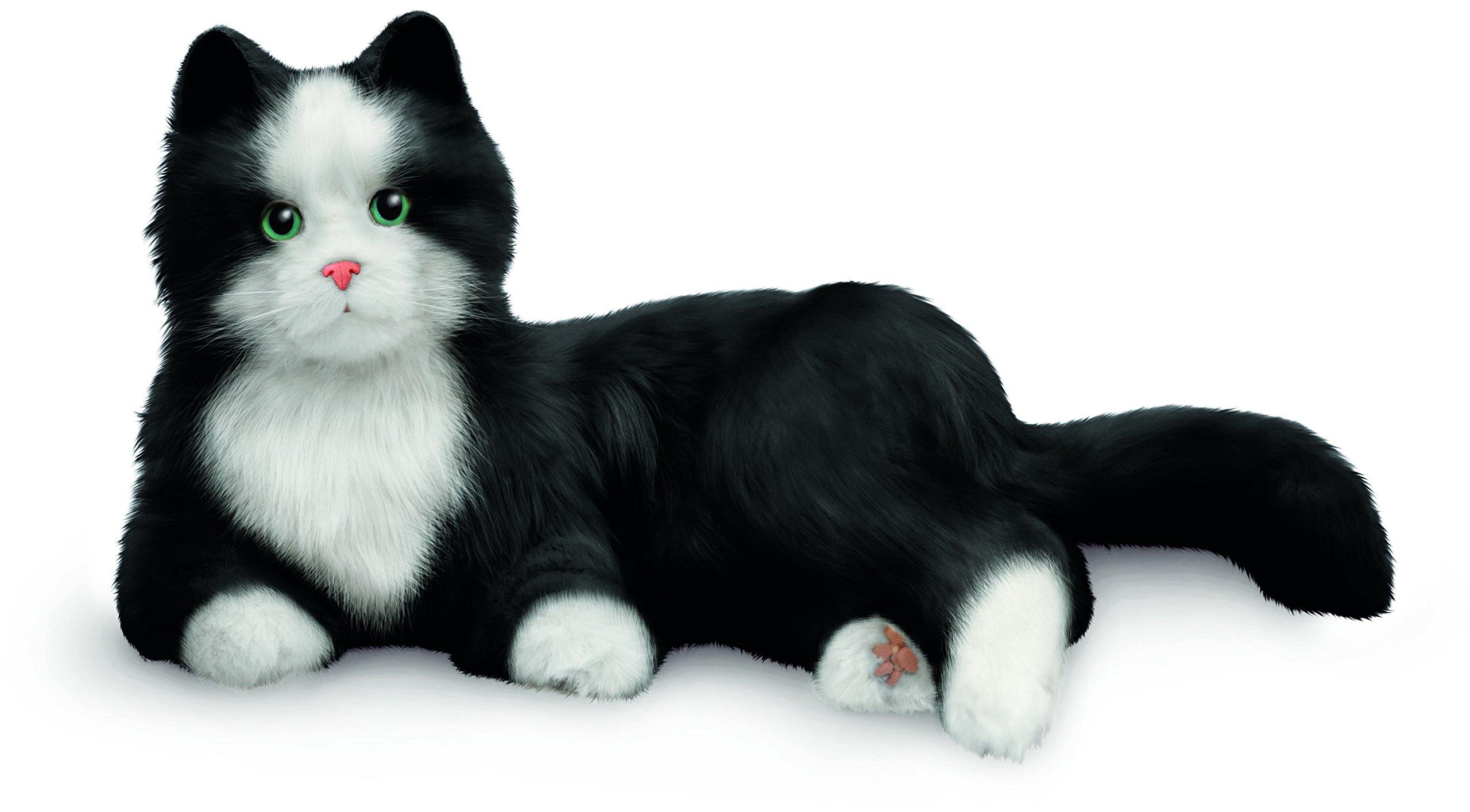 JOY FOR ALL – Black & White Tuxedo Cat – Interactive Companion Pets – Realistic & Lifelike