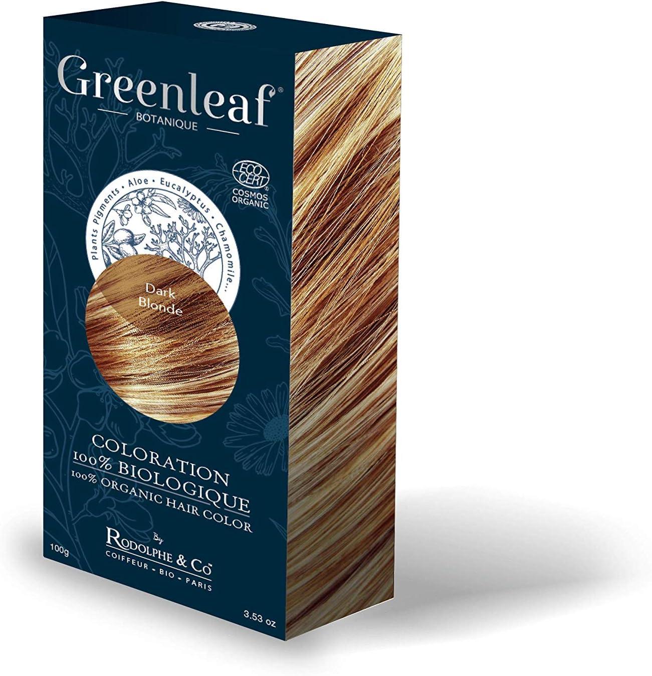 Greenleaf Tinte 100% biológico 100 g – Dark rubio