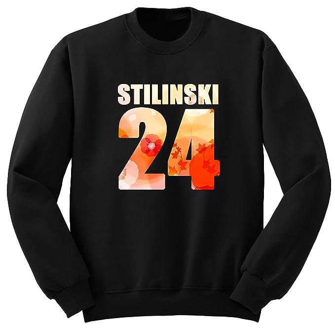 Stilinski 24 Teen Wolf Mujer Sudadera Sweatshirt S1 (XL, Negro)