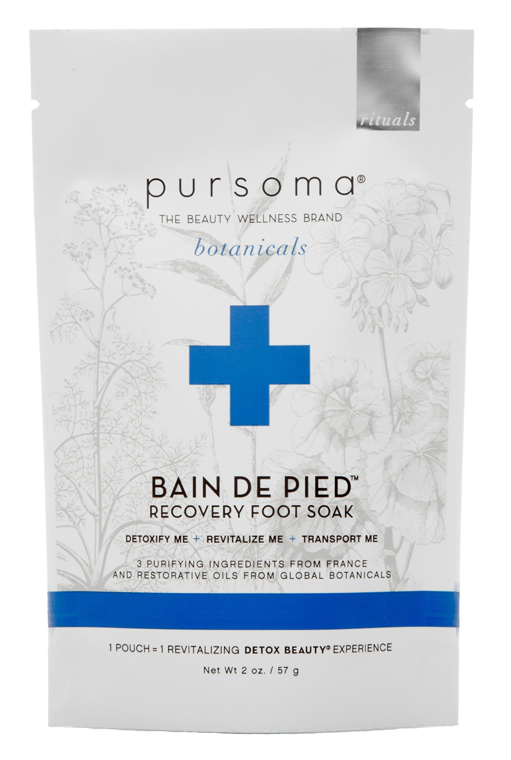 Pursoma - Wildcrafted/Vegan Bain de Pied Recovery Foot Soak (1-Day Cleanse Package)