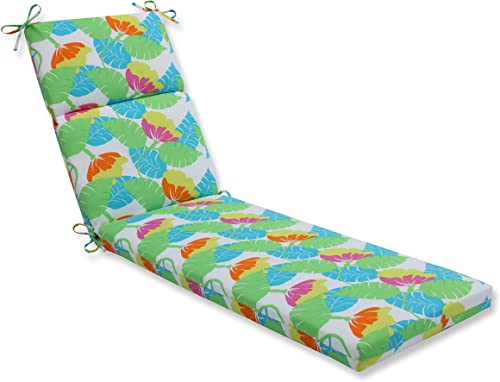Pillow Perfect Outdoor Indoor Avia Fiesta Chaise Lounge Cushion