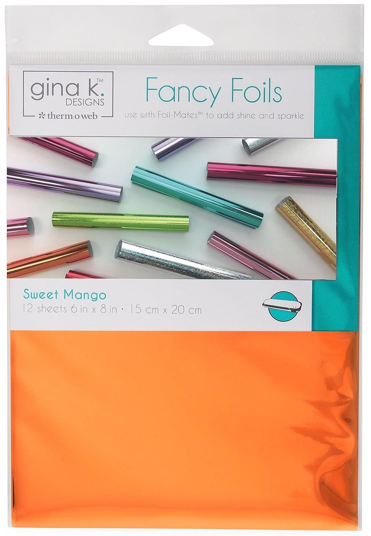 6 x 8 Gina K Designs for Therm O Web 18031 Fancy Foils Red Velvet