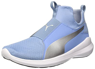 Puma Damen Rebel Mid WNS Sneaker, Blau (Allure Silver), 40.5 EU