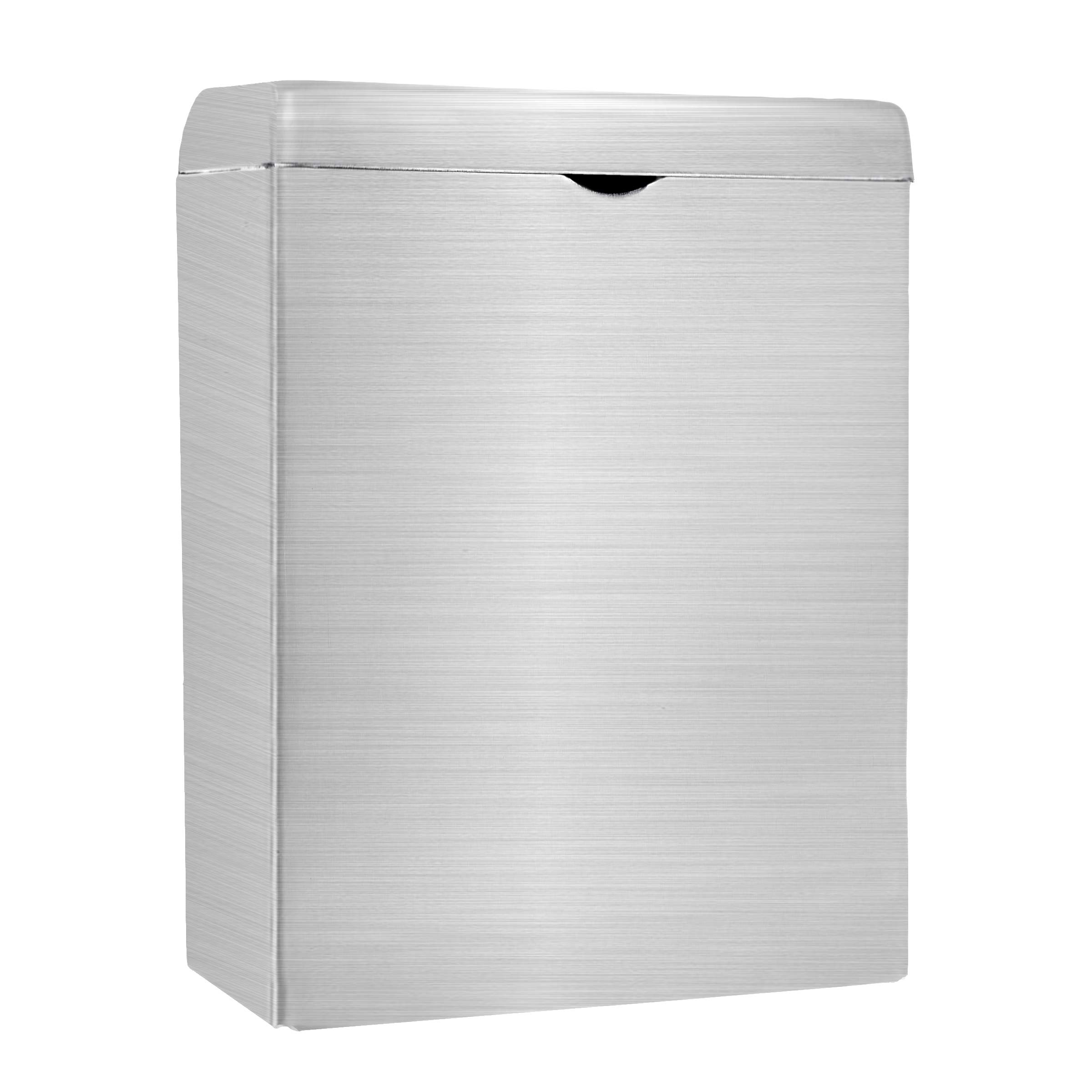 Alpine Industries Sanitary Napkin Receptacle - Easy Install, Wall Mounted Container - Provides Clean & Odor-Free Restroom for Home & Public Restrooms by Alpine