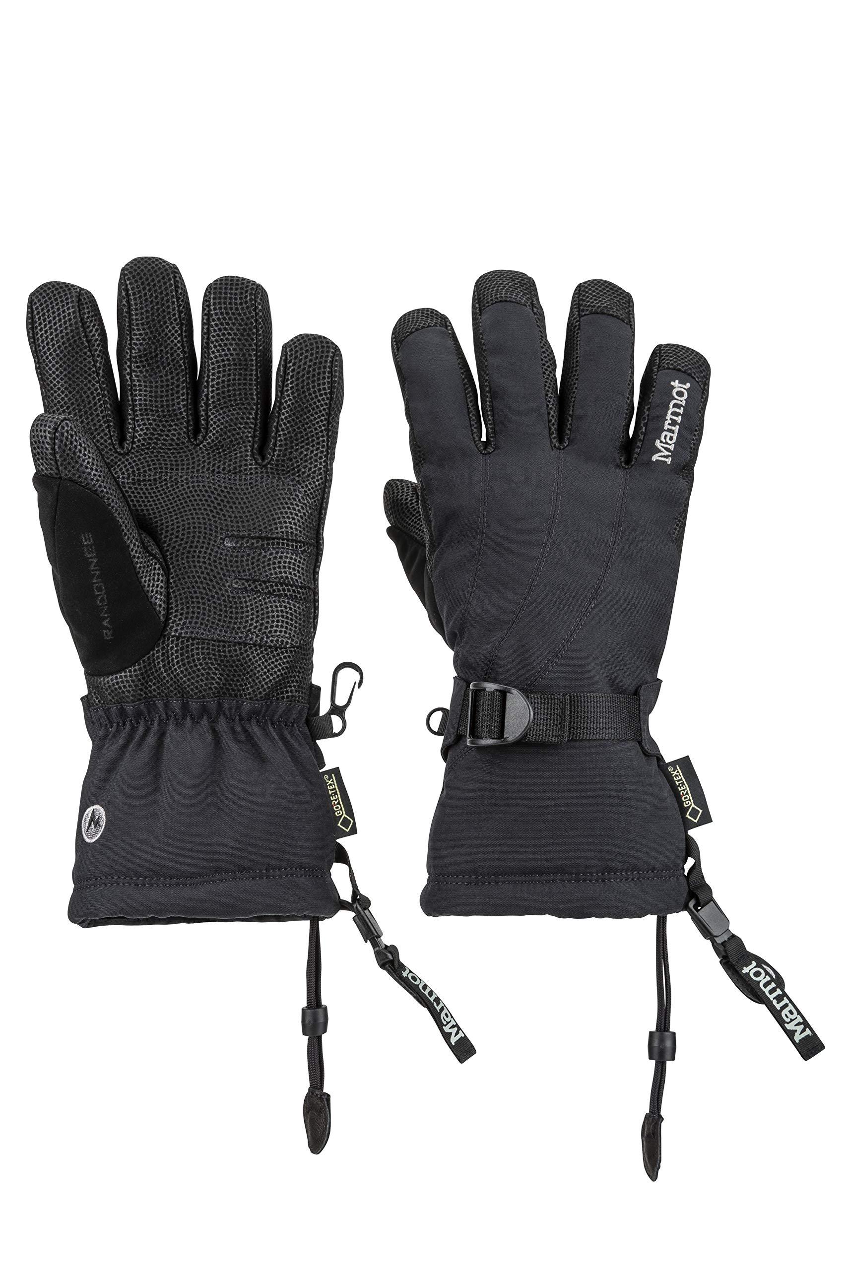 Marmot Women's Randonnee Glove, Large, Black