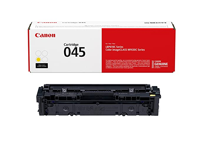 Canon Original 045 Toner Cartridge - Yellow Digital Cameras at amazon