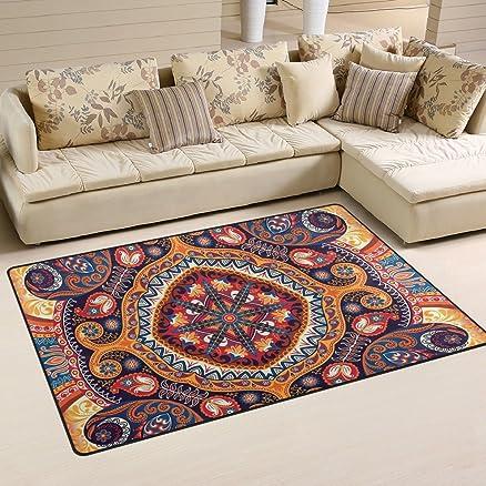 Ingbags super soft Modern Vintage Paisley mandala area tappeti ...