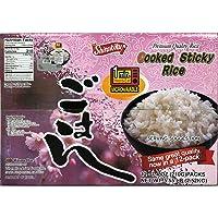 Shirakiku Cooked White Rice, 7.05 oz (200 g) Units (Pack of 12)