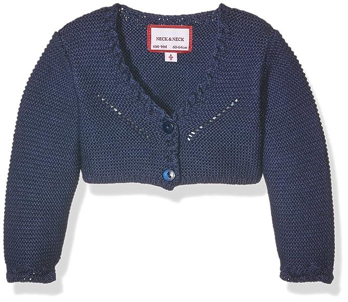92c003598 NECK & NECK Torera Niña-16I11001.23, Chaqueta para Niñas, Azul Marino