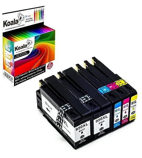 Koala 5 Druckerpatronen kompatibel für HP 950XL HP 951XL 950XL 951XL für HP Officejet Pro 8100 8600 8610 8620 8630 8640 8660