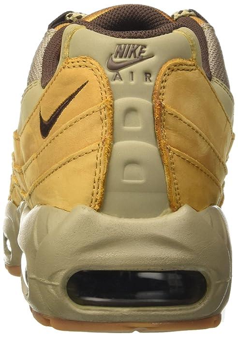 buy popular 97f58 148d5 Amazon.com   NIKE Air Max 95 Winter Premium Wheat Bronze-Baroque Womens  880303-700 Sz 9.5   Fashion Sneakers
