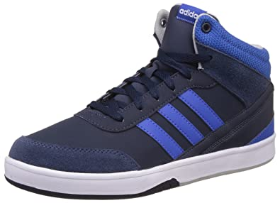 adidas neo Men's Park St Kflip Mid Conavy, Blue and Clonix Sneakers - 7 UK