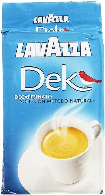 10 opinioni per Lavazza Dek Gusto Classico, decaffeinato, 250 g