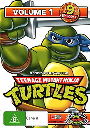 Amazon.com: Teenage Mutant Ninja Turtles - Volume 1 DVD ...