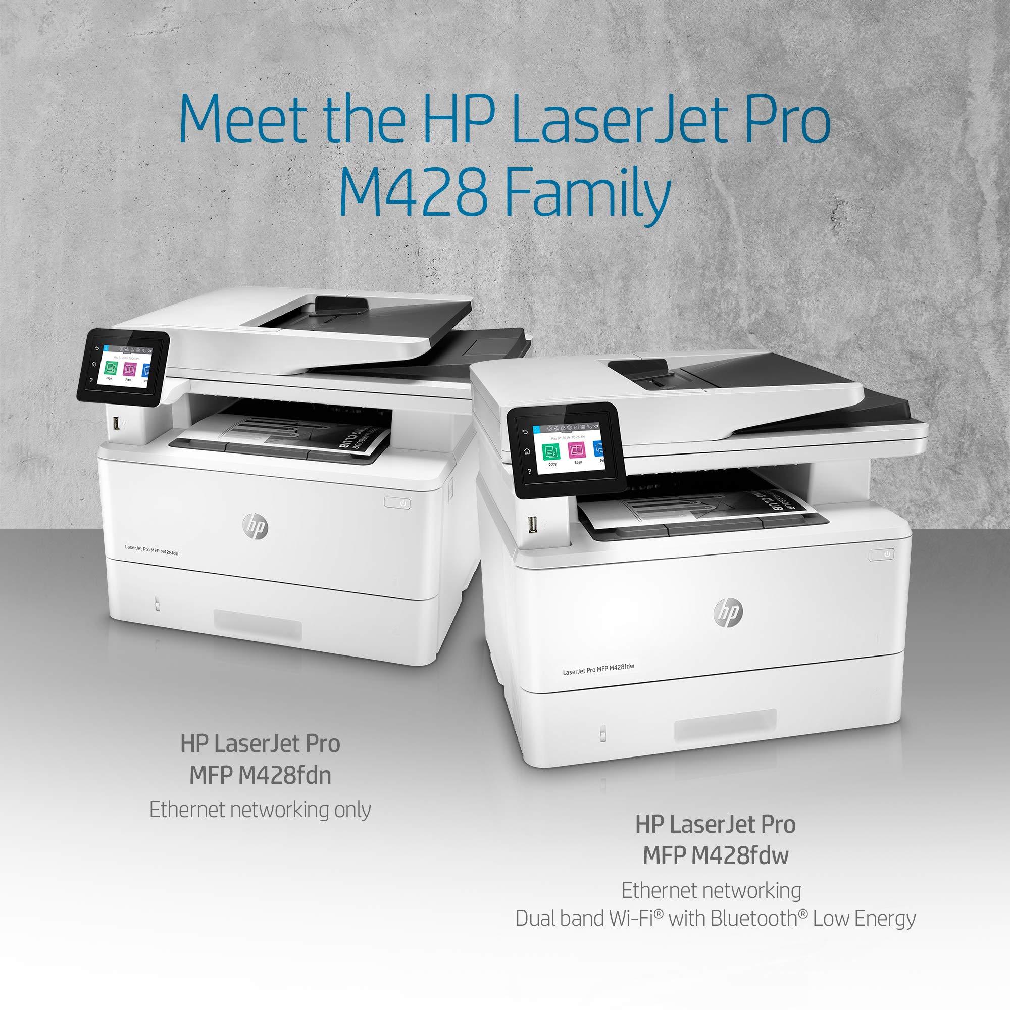 HP LaserJet Pro Multifunction M428fdw Wireless Laser Printer (W1A30A) by HP (Image #5)