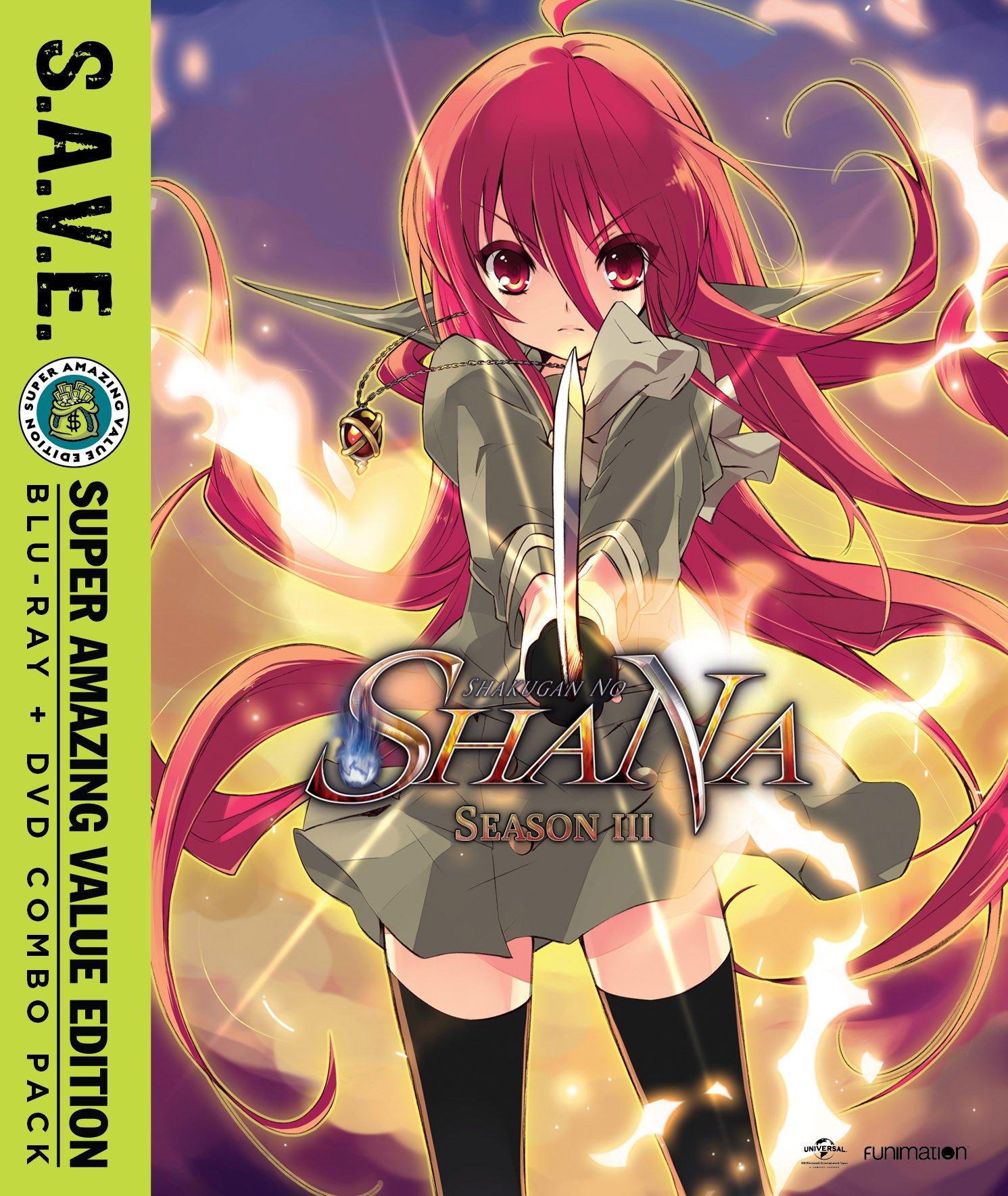 Blu-ray : Shakugan No Shana - Season Three - S.a.v.e. (With DVD, 8 Disc)