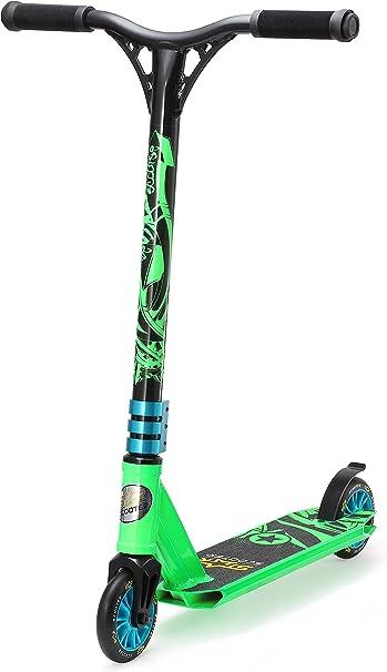 Star-Scooter/® Premium Freestyle Stuntscooter Monopattino Mini per Piccolo avventuriero Gi/ù 5 Anni Edizione 110mm Mini Nero /& Verde