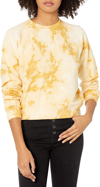 Billabong Women's Sun Shrunk Sweatshirt at  Women's Clothing store