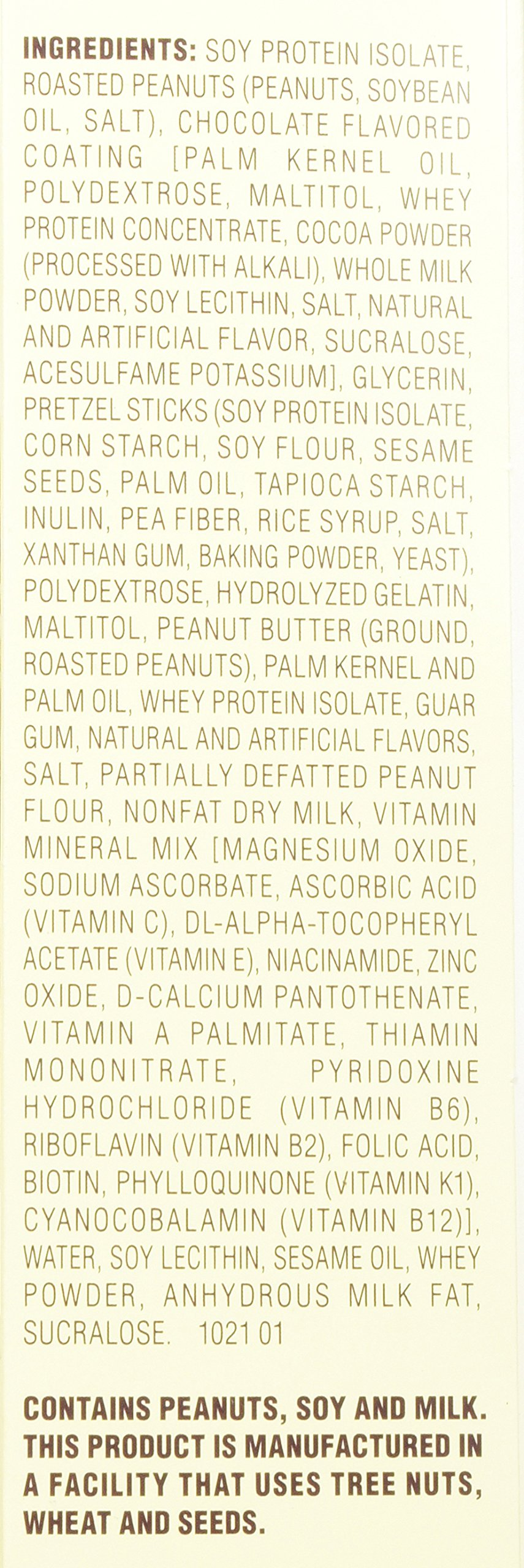 Atkins Chocolate Peanut Butter Pretzel Bar, 13 Count by atkins (Image #3)
