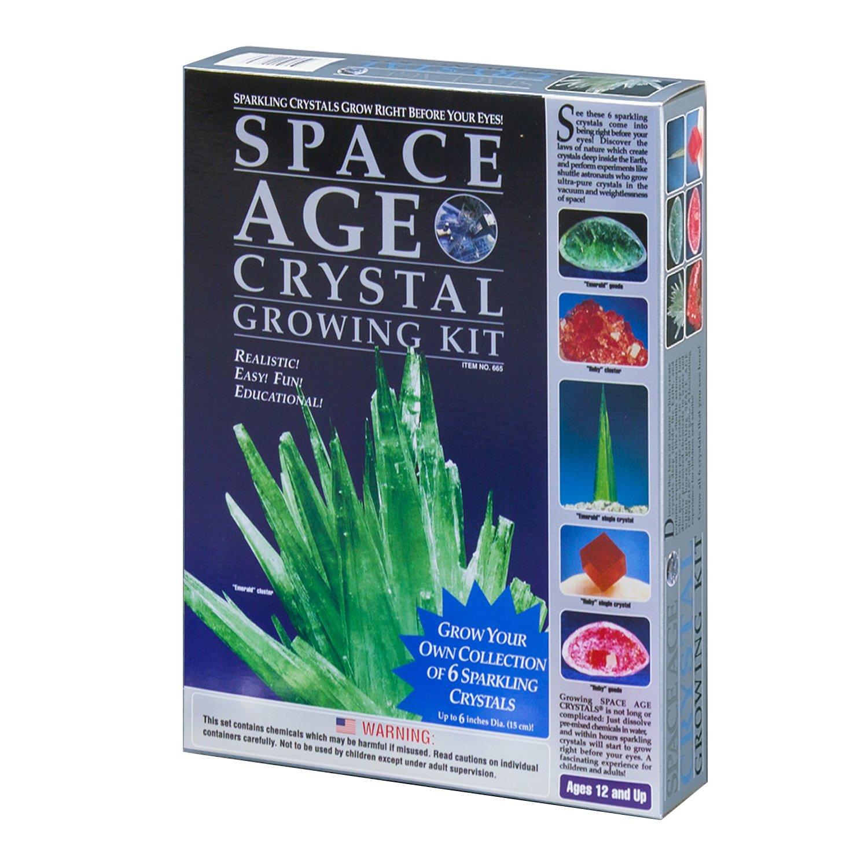 mejor calidad mejor precio Reducción de precio Kristal Educational Space Age Crystal Growing Growing Growing Kit: 6 Crystals (Emerald and Ruby)  Venta en línea de descuento de fábrica