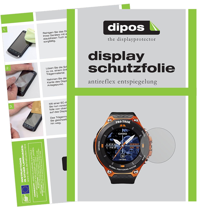 dipos I 6X Protector de Pantalla Mate Compatible con Casio WSD-F20 ...