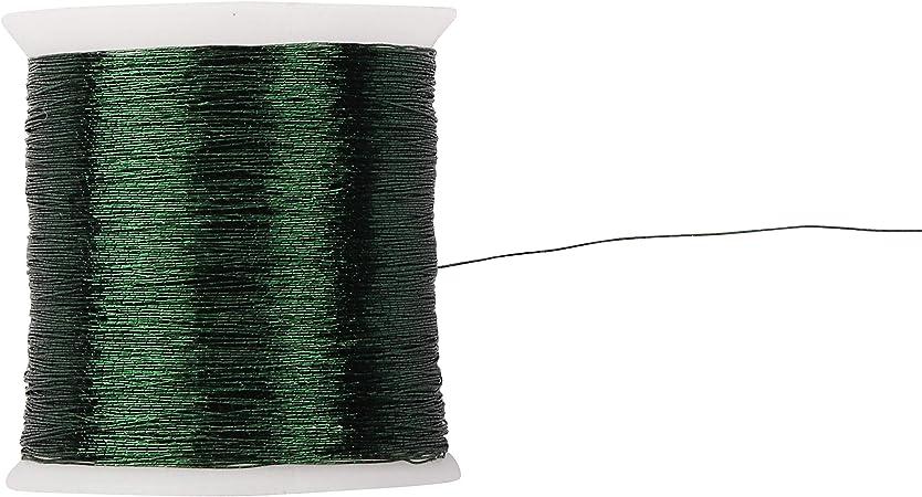 8122 Stickgarn Stickfaden Kn/üpfgarn Norma 100/% Baumwolle 15 m silbergrau