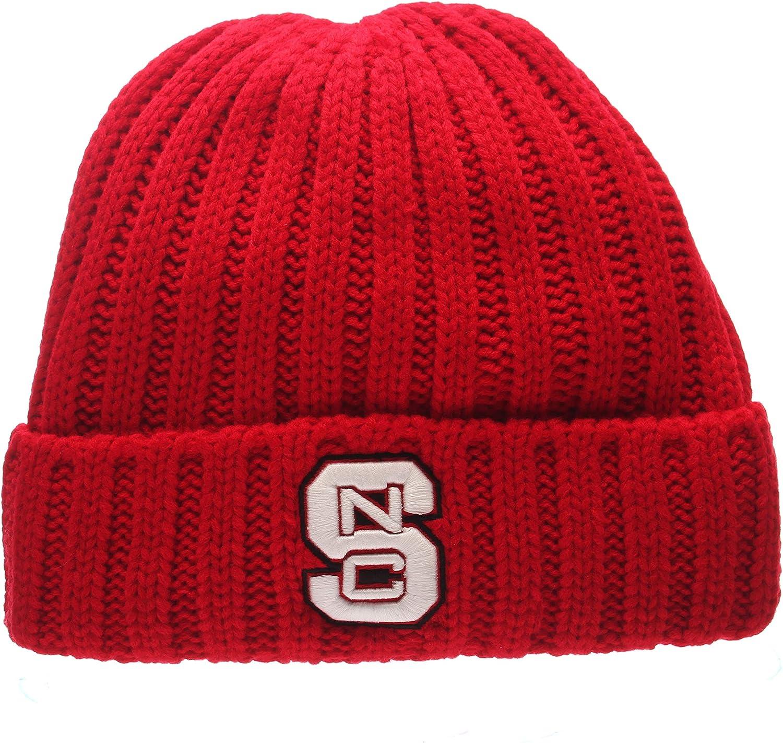 Zephyr Fashion Cuff Beanie Hat NCAA Cuffed Winter Knit Toque Cap