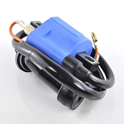 external ignition coil w/cap for yamaha atv 80-660 cc/dirt bike