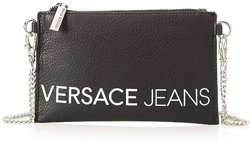 46e0c31047 Versace Jeans Ee3vsbpbb, Portafoglio Donna, Nero, 1x12x20 cm (W x H ...