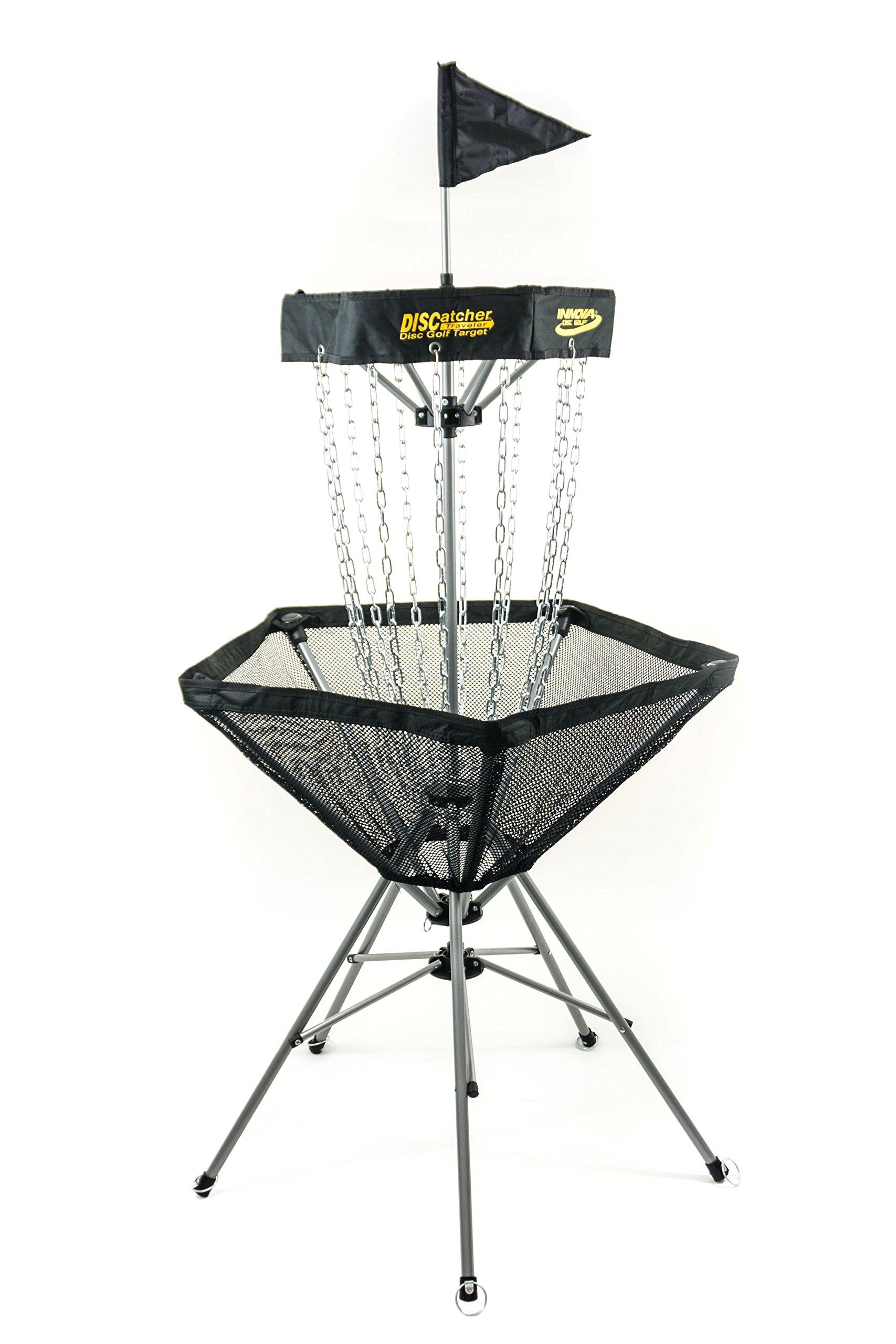Innova Discatcher Traveler Basket - Black by Innova