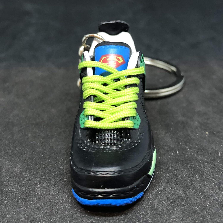 3dcf510906a96c Amazon.com  Air Jordan IV 4 Retro DB Doernbecher Superman OG Sneakers Shoes  3D Keychain 1 6 Figure  Everything Else