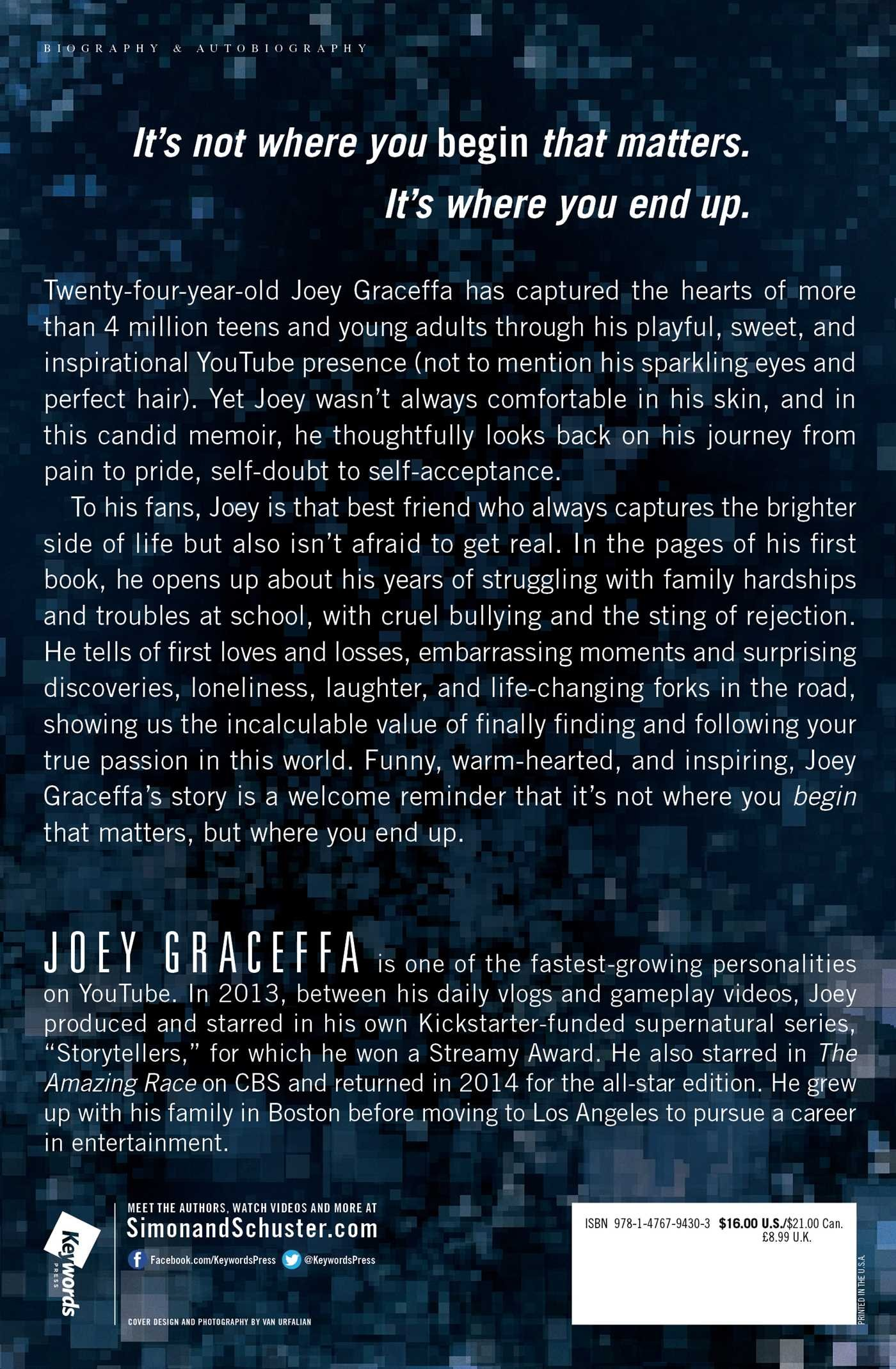 in real life my journey to a pixelated world joey graceffa in real life my journey to a pixelated world joey graceffa 9781476794303 com books