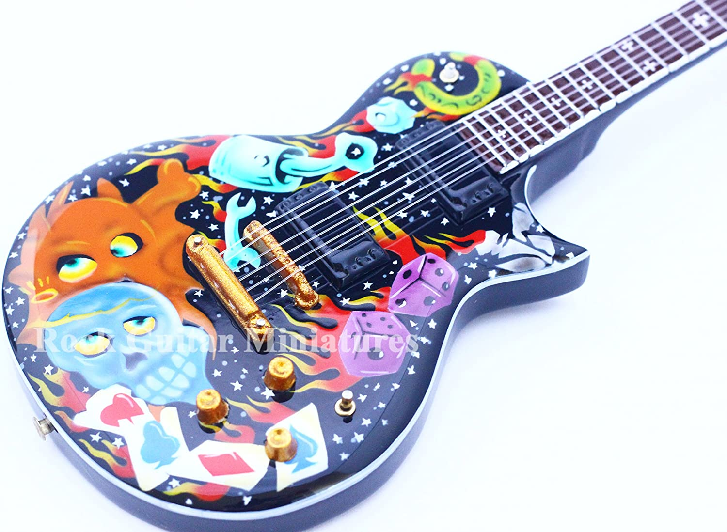RGM114 James Hetfield METALLICA Eclipse Guitarra en miñatura ...