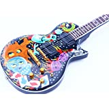 RGM114 James Hetfield METALLICA Eclipse guitarra en miniatura