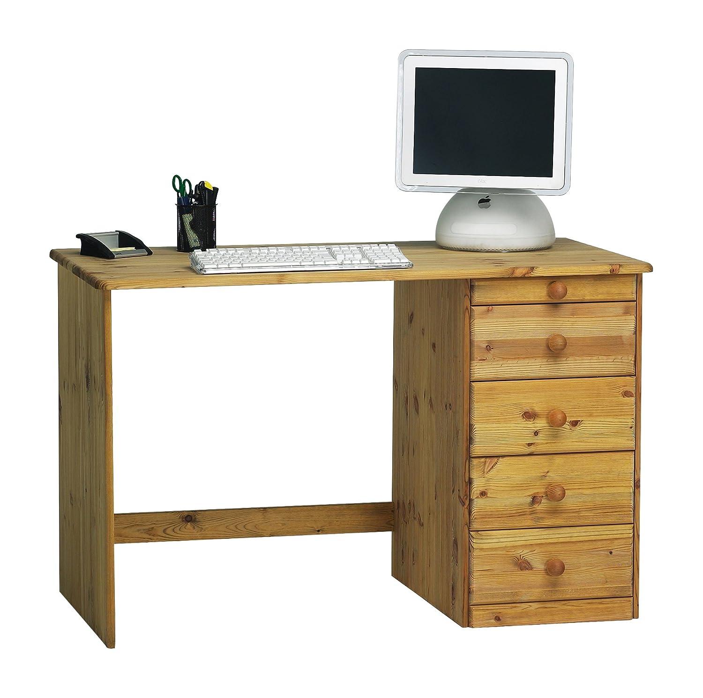 Wunderschön Schreibtisch 160x60 Sammlung Von Steens Kent Schreibtisch, 1 Tür, 4 Schubladen,