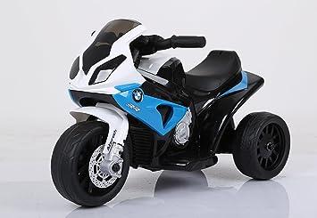 Mini moto infantil, de Robix, eléctrica, con tres ruedas: Amazon.es: Juguetes y juegos