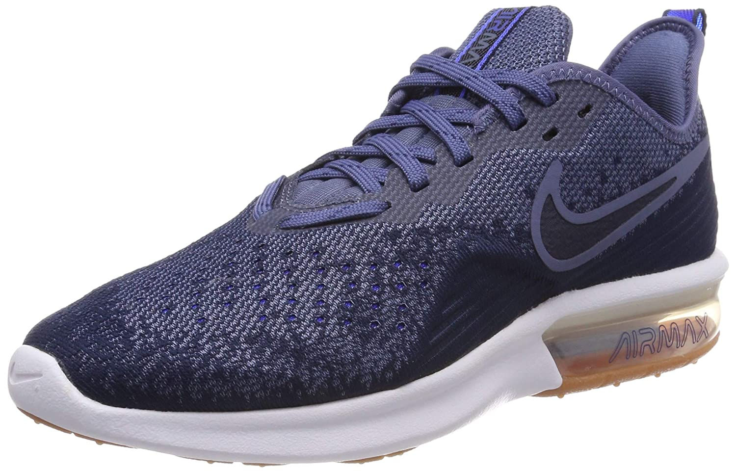MultiCouleure (Midnight Navy Obsidian Diffused bleu 400) Nike Air Max Sequent 4, Chaussures de Fitness Homme 41 EU