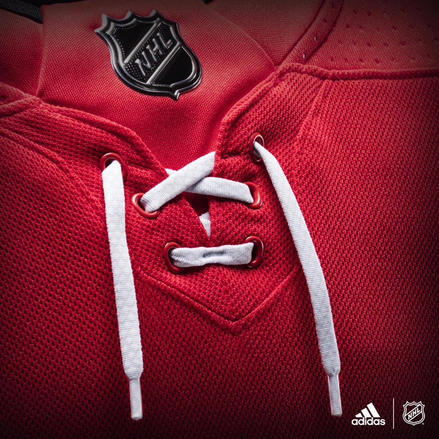 9f385339ee2db adidas Carolina Hurricanes NHL Men's Climalite Authentic Team Hockey Jersey
