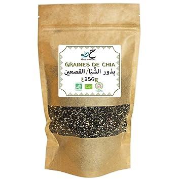 Semillas de Chia Bio Halal - 250 g: Amazon.es: Salud y ...